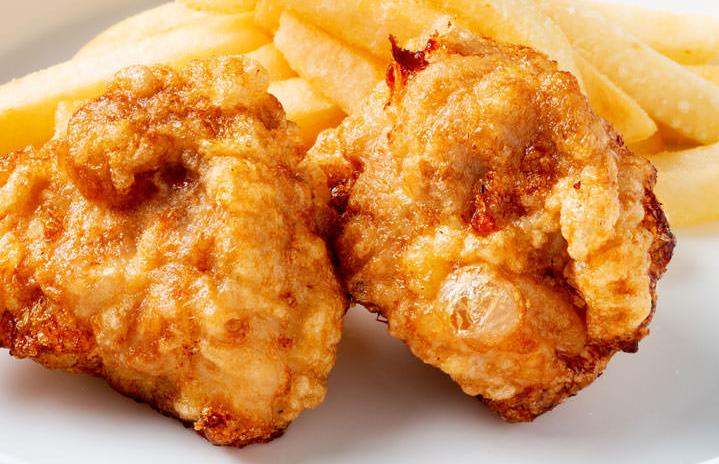 鶏の唐揚げ&ポテトフライ